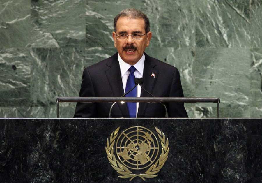 Presidente Medina hablará esta tarde en la ONU