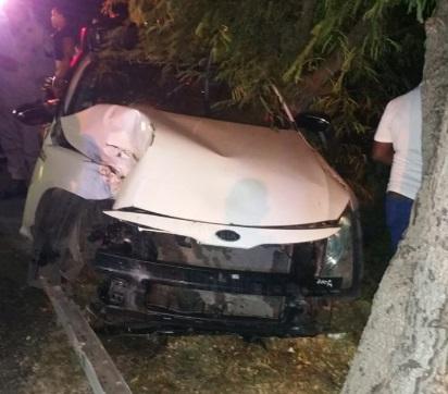 Dos estudiantes de la UASD mueren en accidente de tránsito en Barahona