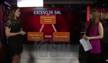 Consumir sal en exceso puede ser muy perjudicial para la salud