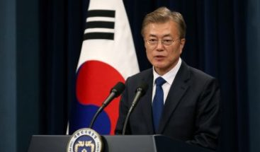 Moon dice tener mensaje de Kim para Trump