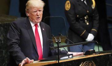 Trump dice reconocer a Jerusalén avanza la paz entre palestinos e Israel