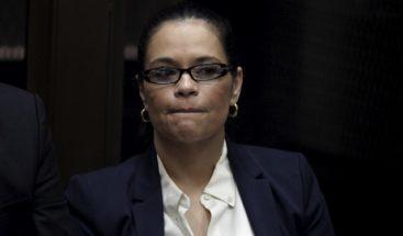 Piden 22 años de cárcel para exvicepresidenta de Guatemala por fraude