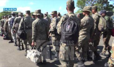 Llegan a la frontera más de 360 militares de operación Cerco Fronterizo