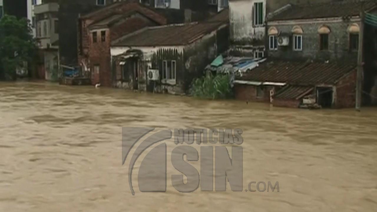 Suman más de 60 los muertos por el tifón Mangkhut en China