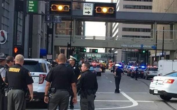 Al menos cuatro muertos en un tiroteo en un banco de EE.UU.