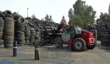 Ley en Chile obliga empresas a reciclar residuos de neumáticos