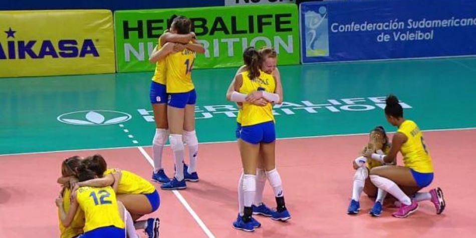 Brasil gana el oro en Sudamericano de voleibol femenino Sub 20