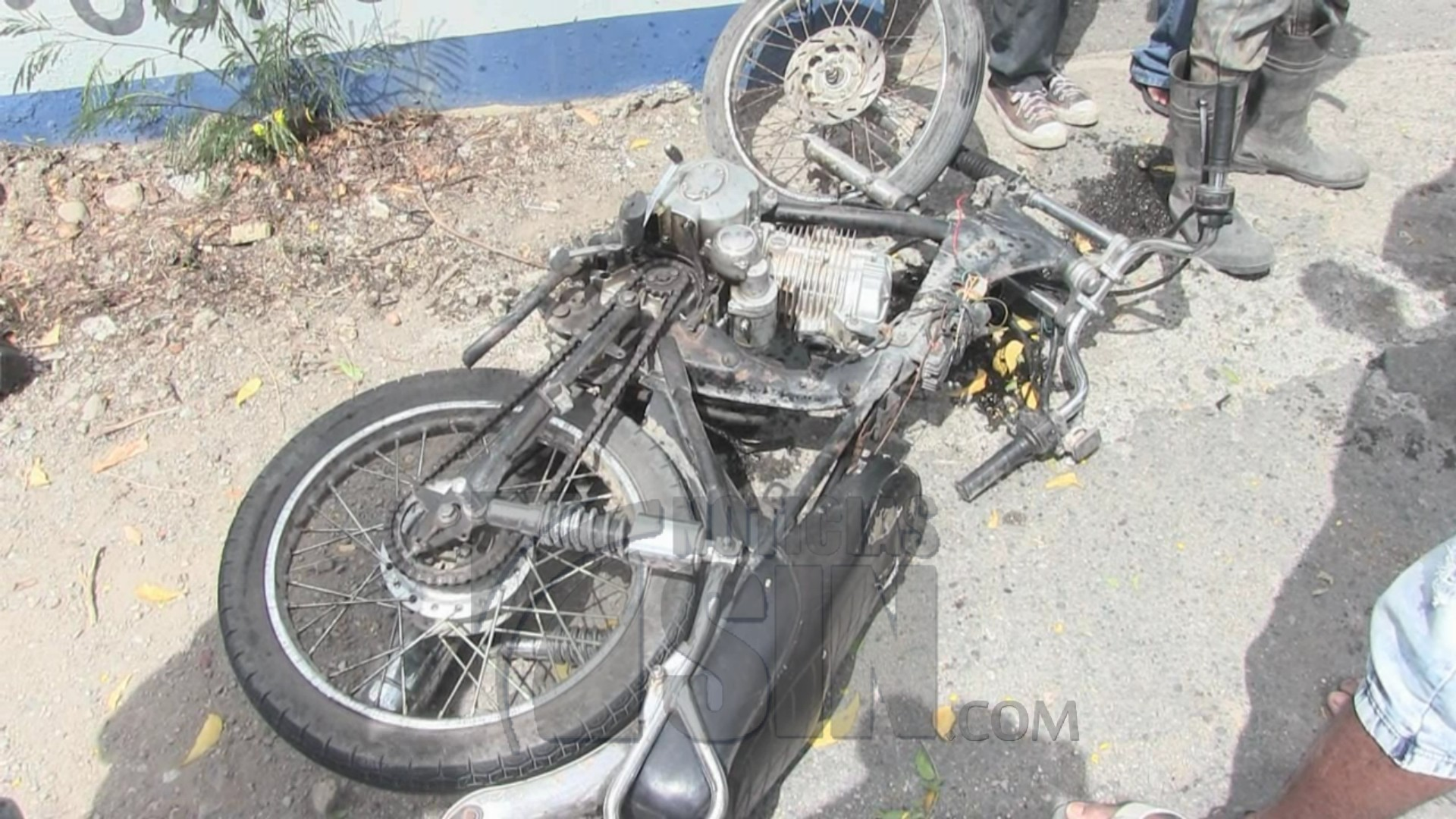 Dos personas muertas en un accidente de tránsito en Azua