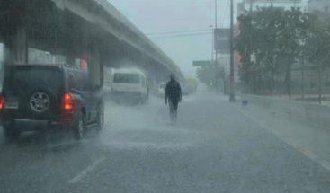 Onamet mantiene en alerta a cinco provincias por incidencia de vaguada