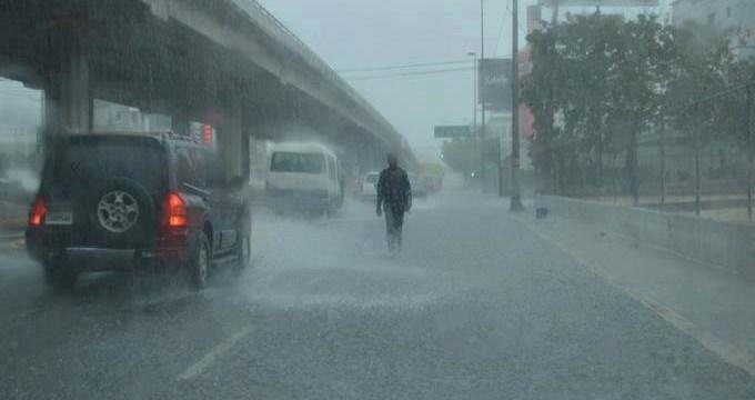 Onamet mantiene alerta a cuatro provincias por incidencia de vaguada