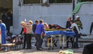 Ascienden a 21 los muertos en el ataque contra la en escuela de Crimea