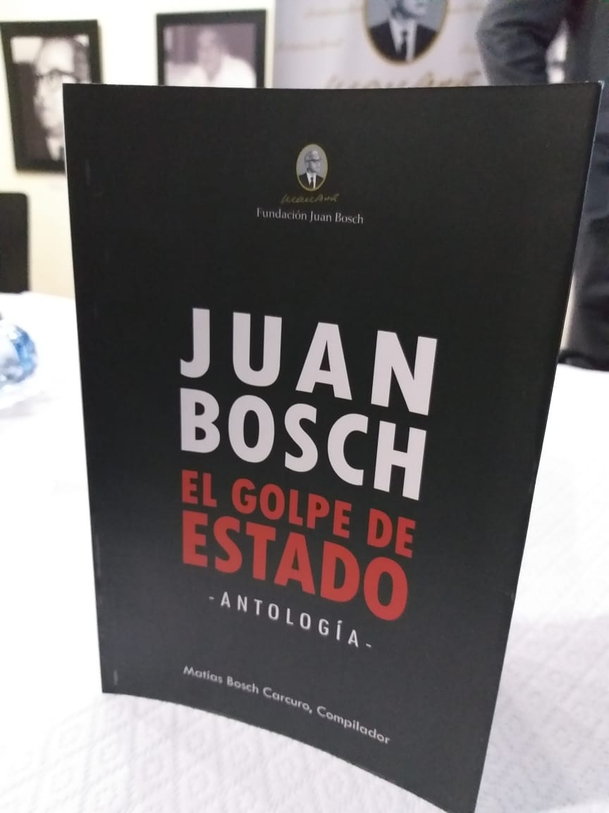 Ponen en circulación libro ''Juan Bosch. El Golpe de Estado''
