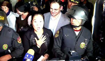 En Perú, Keiko Fujimori sale en libertad, tras 8 días detenida