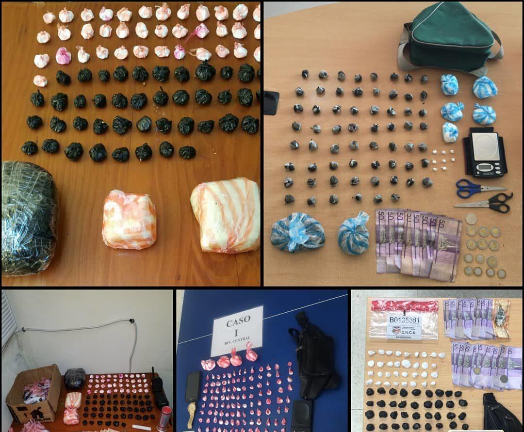 DNCD ocupa más de 10 mil porciones de drogas en barrios del GSD