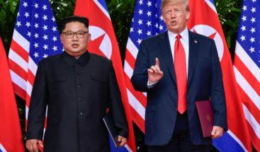 Trump explica su 'declaración de amor' a Kim Jong-un