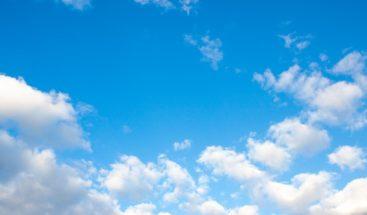 Nubes dispersas y pocas lluvias se pronostican para este domingo