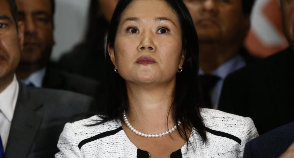 Keiko Fujimori asegura que es víctima de una persecución política