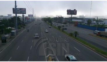 Sectores del GSD y DN amanecen con fuerte neblina