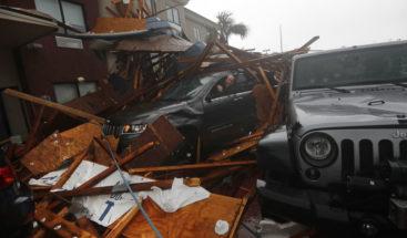 Primeras imágenes de los estragos en EE.UU. por el huracán Michael