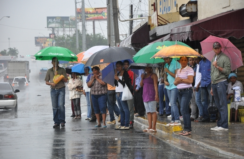 Continuarán las lluvias durante todo el fin de semana, según Onamet