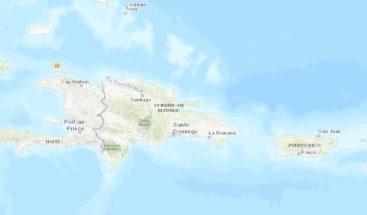 Temblor de 4,2 grados se siente en Haití la madrugada de este lunes