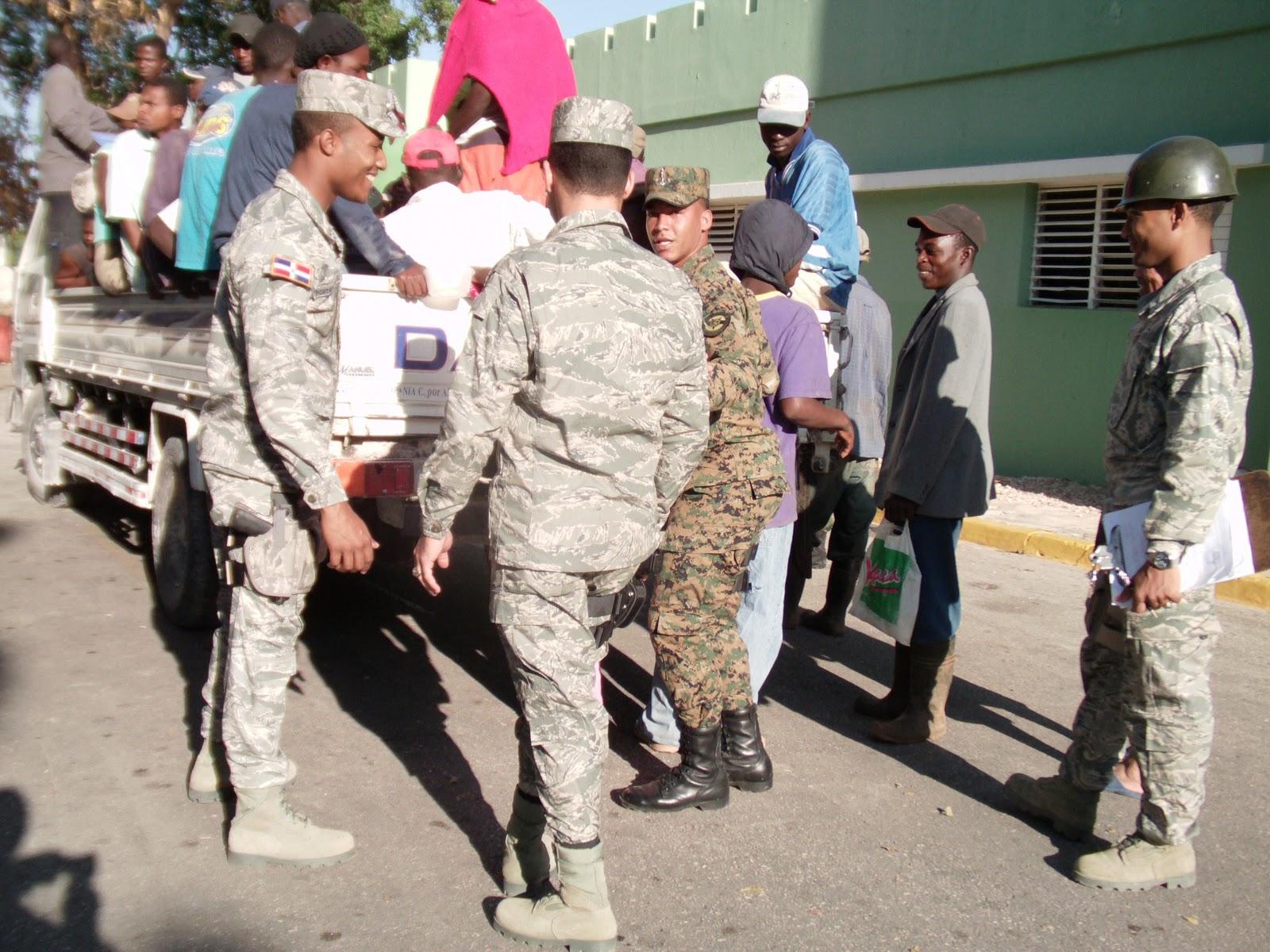 Cesfront detiene 5,097 indocumentados haitianos