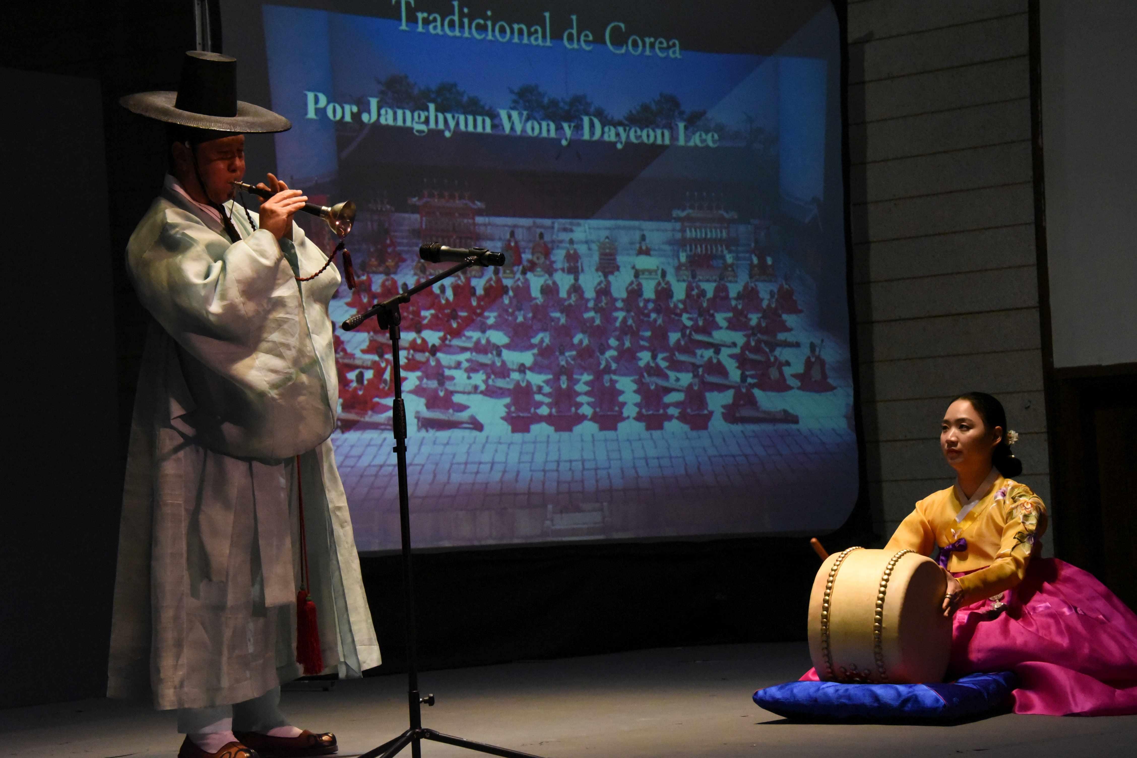 Conservatorio Nacional de Música presenta espectáculo musical coreano