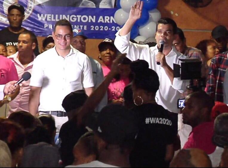 Wellington Arnaud dice está decidido a enfrentar al PLD