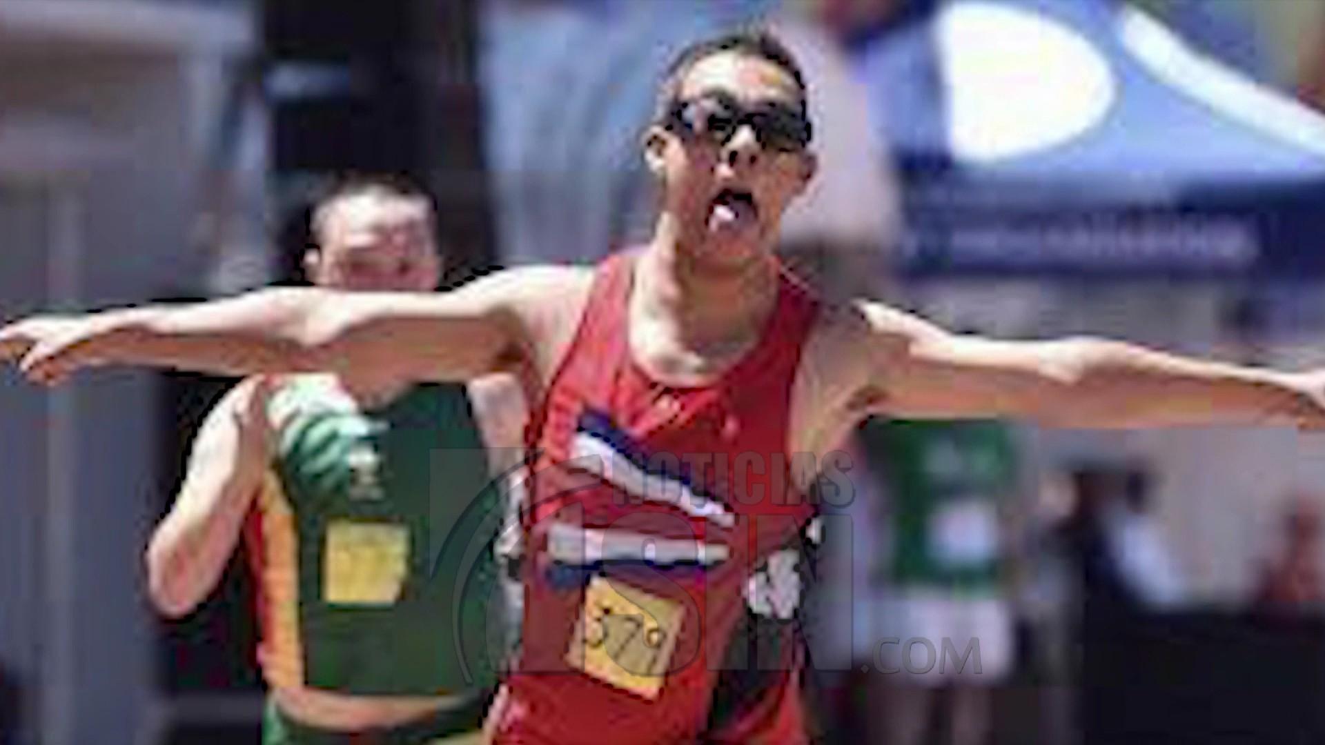 Joven con síndrome Down es el más rápido del mundo