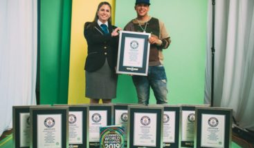 Daddy Yankee recibe 10 récords Guinness por