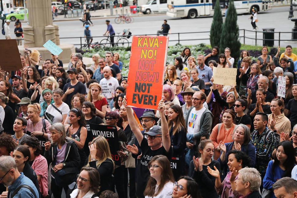 Más de 300 detenidos en Congreso de EEUU por protestas contra Kavanaugh
