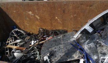 Destruyen chasis de motocicletas llegaron en cajas de comida desde EEUU
