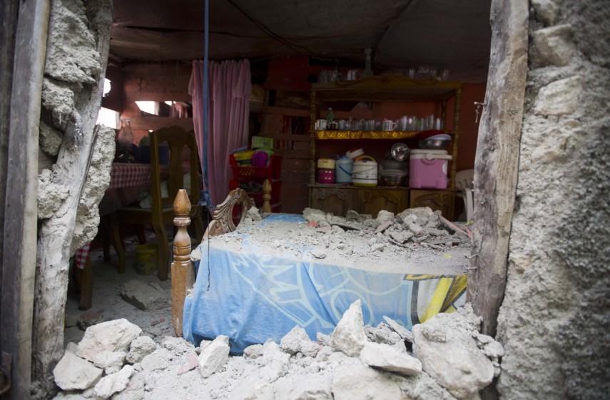 El sismo en Haití causó daños a más de 7.400 viviendas