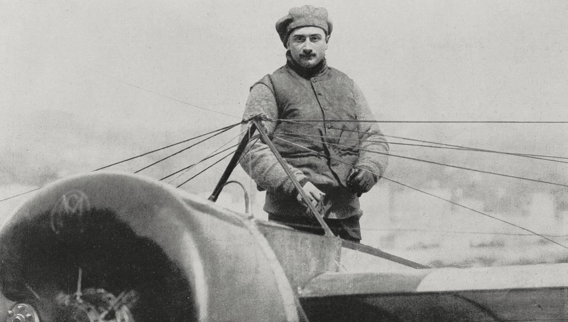 Cien años de muerte de Roland Garros, el aviador más célebre del tenis