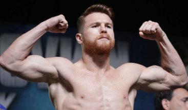 Canelo Álvarez ganará 365 millones de dólares por 11 combates en 5 años