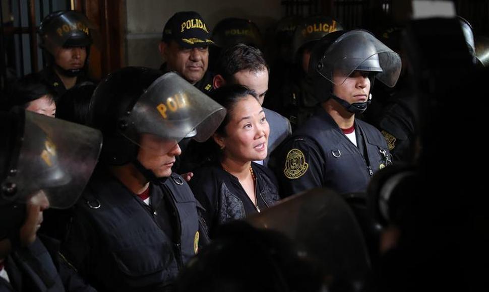 Fiscal pide prisión preventiva contra Keiko Fujimori por 36 meses
