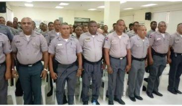 PN gradúa 155 agentes policiales en la provincia Monseñor Nouel