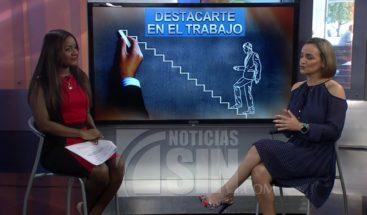 Entrevista con Darys Estrella: ¿Cómo destacarte en el trabajo?