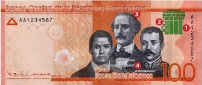 Banco Central emite billete de RD$100.00 con nueva identidad visual