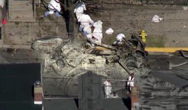 Tres personas muertas por explosión de un automóvil en Pensilvania
