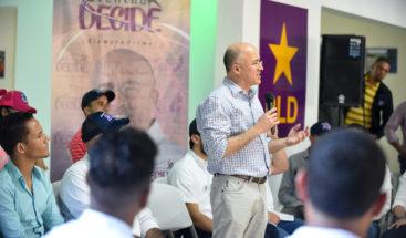 """Candidato a la presidencia Domínguez Brito: """"El PLD tiene que renovarse"""""""