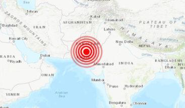 Un fuerte sismo de magnitud 6,7 sacude Pakistán