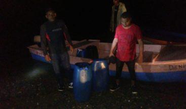 Detienen embarcación ilegal en Miches