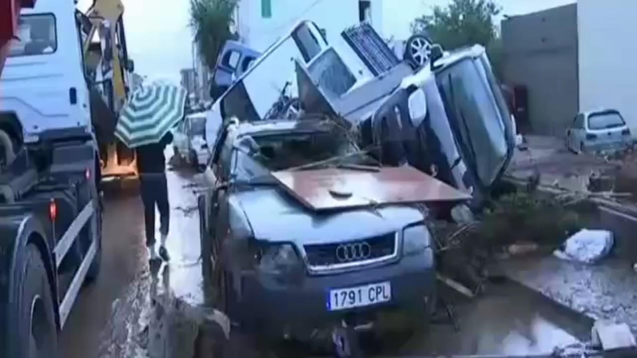 Diez muertos a causa de las fuertes lluvias en isla española de Mallorca