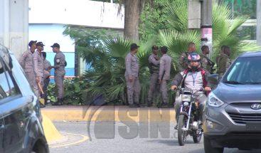 Aumentada presencia policial en calles del Gran Santo Domingo