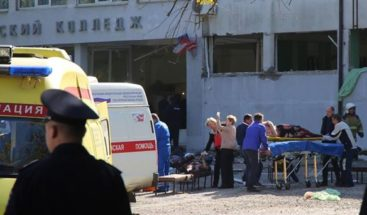 Un estudiante mata a 19 personas en un instituto de Crimea