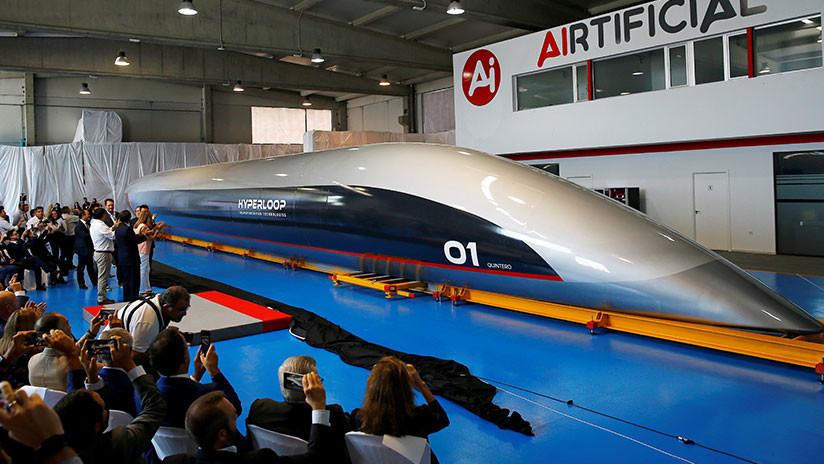 Presentan primer tren supersónico español, que viajará a más 1.000 k/h