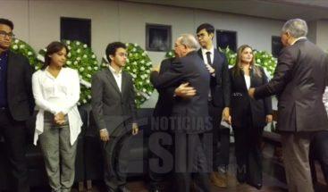 Presidente Medina expresa condolencias a la familia Molina Peña