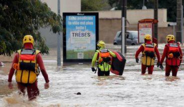 Inundaciones en el departamento francés de Carcasona dejan 13 muertos