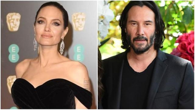 Angelina Jolie podría estar iniciando una relación con Keanu Reeves